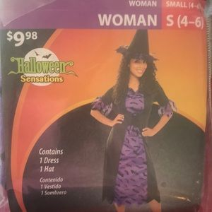 Woman's Cute Witch Costume